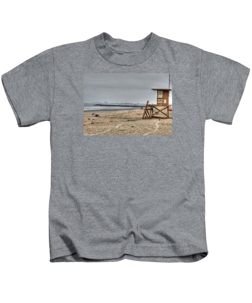 No Lifeguard On Duty Kids T-Shirt