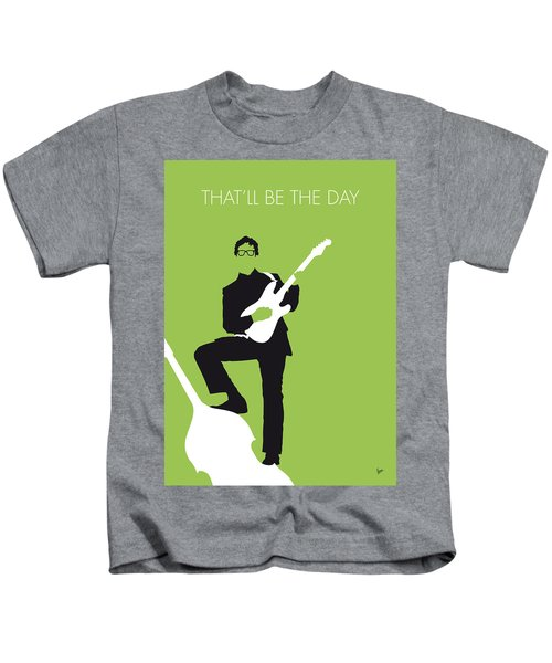No056 My Buddy Holly Minimal Music Poster Kids T-Shirt