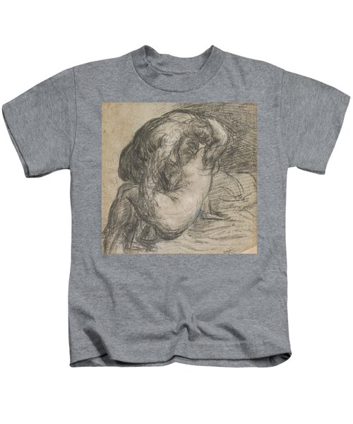 Couple In An Embrace Kids T-Shirt