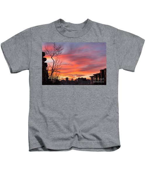Nob Hill Sunset Kids T-Shirt