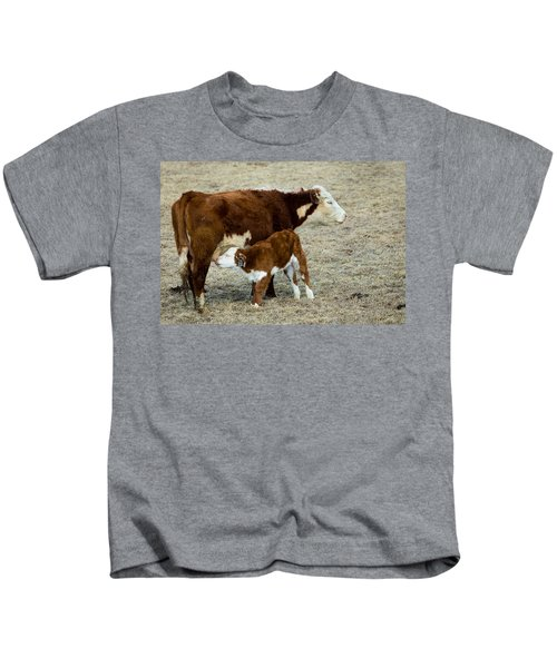 Nursing Calf Kids T-Shirt
