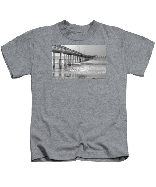 Ocean Beach Pier Kids T-Shirt