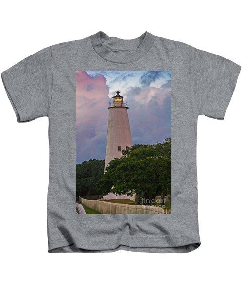 Ocracoke Lighthouse Kids T-Shirt