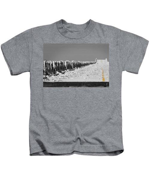 Old Bahia Honda Bridge Kids T-Shirt