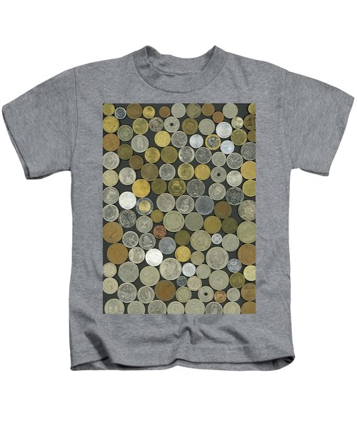Old Coins Kids T-Shirt