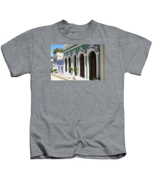 Old San Juan Street Kids T-Shirt