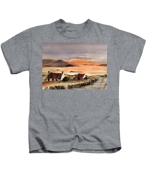 Omey Island Sunset Galway Kids T-Shirt