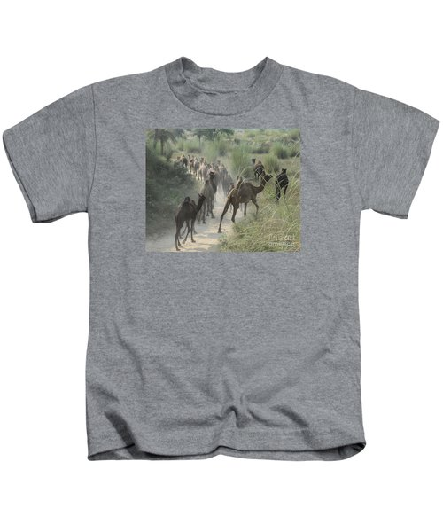 On The Road To Pushkar Kids T-Shirt