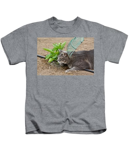 One Happy Cat Kids T-Shirt