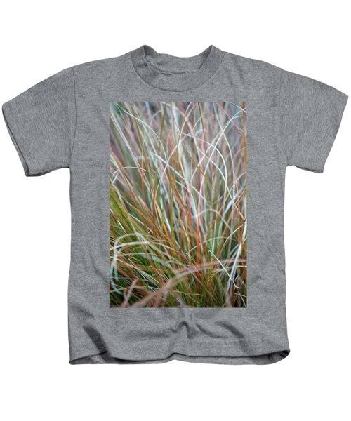 Ornamental Grass Abstract Kids T-Shirt