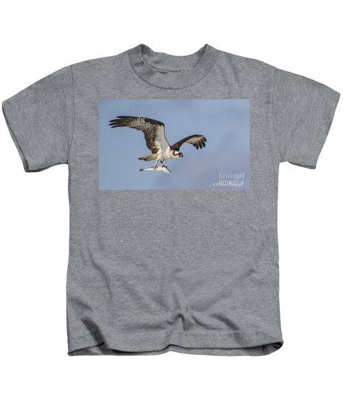 Osprey With Dinner Kids T-Shirt