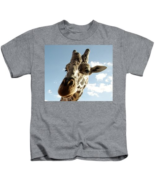 Out Of Africa  Reticulated Giraffe Kids T-Shirt