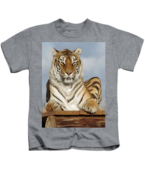 Out Of Africa Tiger 4 Kids T-Shirt
