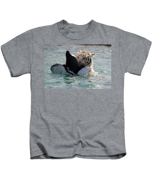 Out Of Africa Tiger Splash 4 Kids T-Shirt