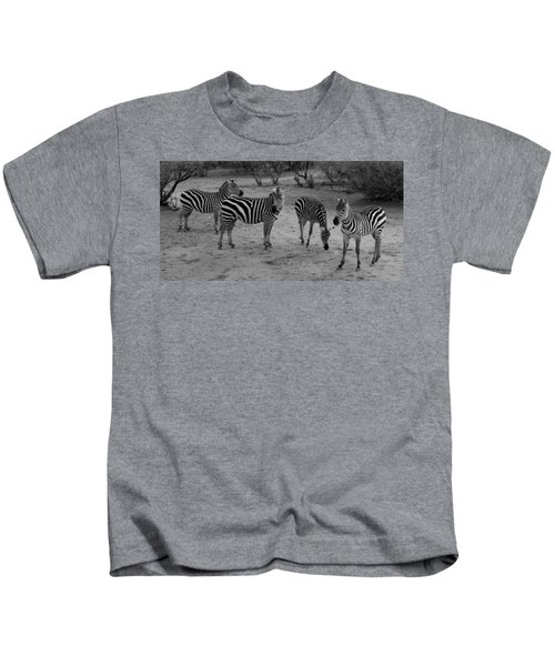 Out Of Africa  Zebras Kids T-Shirt