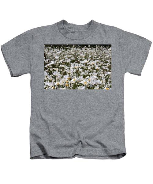 Ox Eye Daisies Kids T-Shirt