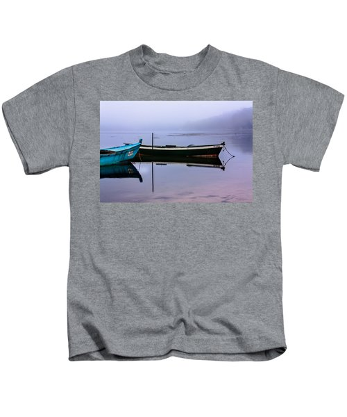 Pacheco Blue Boat Kids T-Shirt