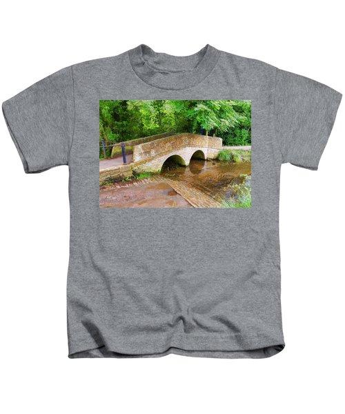 Pack Horse Bridge Kids T-Shirt