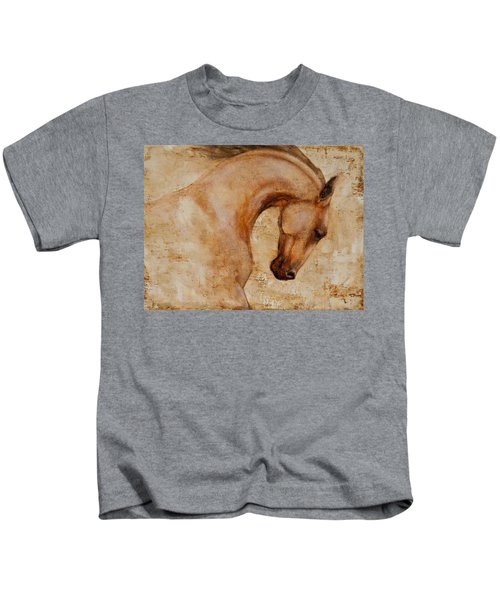 Painted Determination 1 Kids T-Shirt