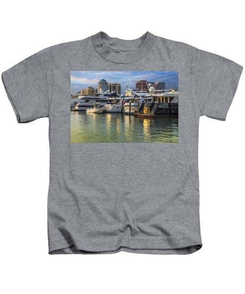 Palm Beach Marina Kids T-Shirt