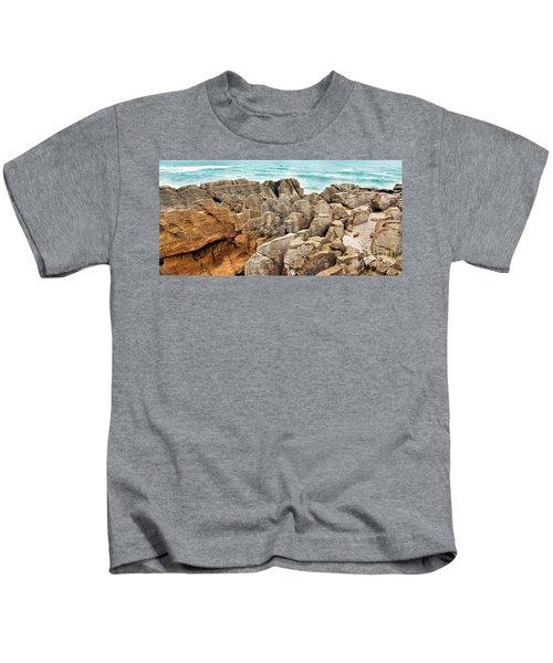 Pancake Rocks Kids T-Shirt