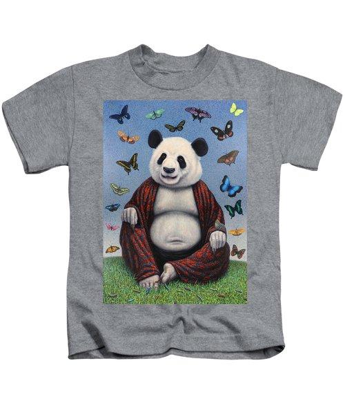 Panda Buddha Kids T-Shirt