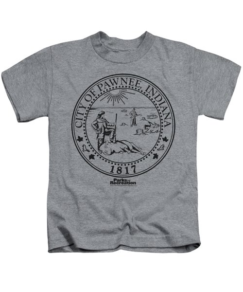 Parks And Rec - Pawnee Seal Kids T-Shirt