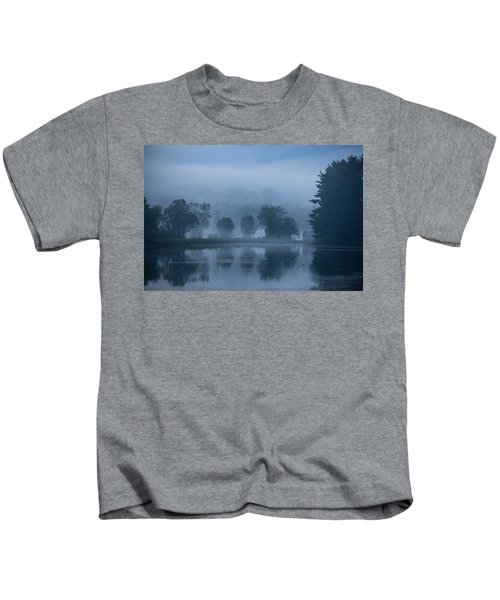 Peaceful Blue Kids T-Shirt