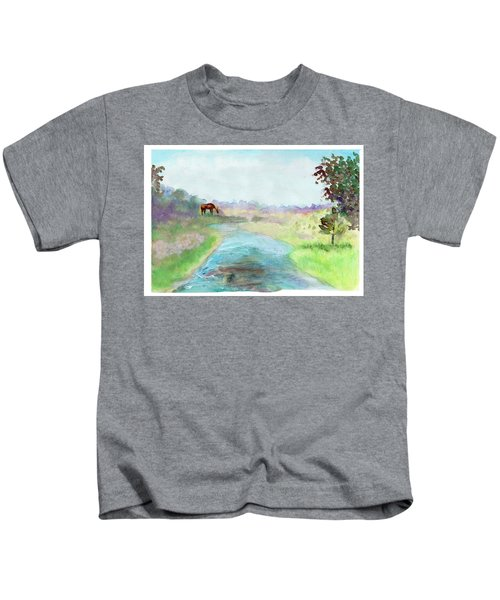 Peaceful Day Kids T-Shirt