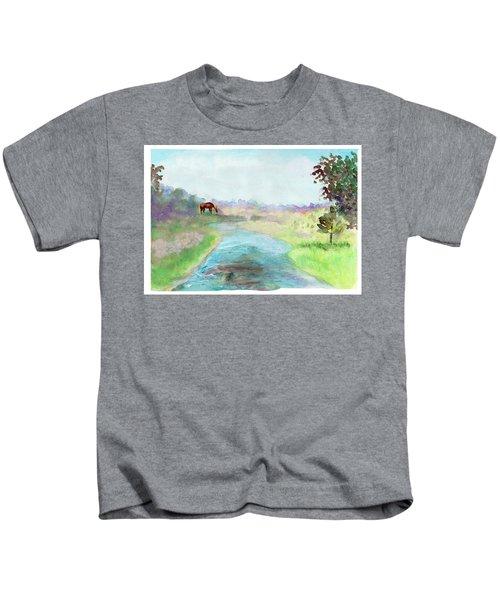 Peaceful Day Kids T-Shirt