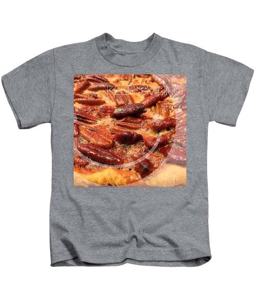 Pecan Pie - Baking On Thanksgiving Eve Kids T-Shirt