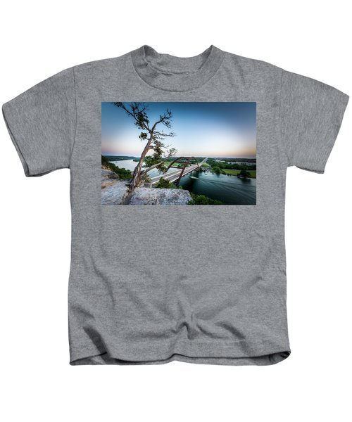 Pennybacker Bridge Austin Kids T-Shirt