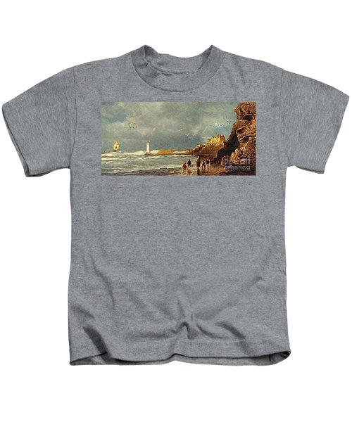 Perch Rock - New Brighton 1829 Kids T-Shirt