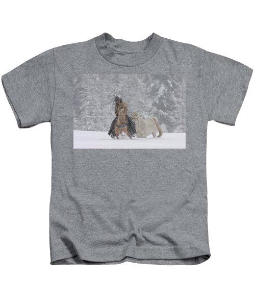 Persevere Through All Kids T-Shirt