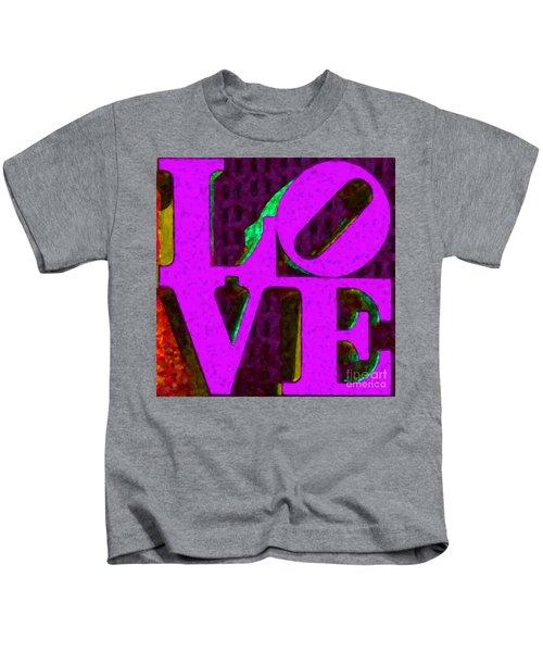 Philadelphia Love - Painterly V2 Kids T-Shirt