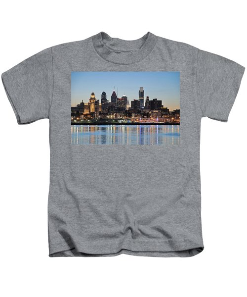 Philly Sunset Kids T-Shirt