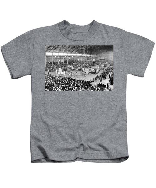 Photo Of A Five Ring Circus Kids T-Shirt