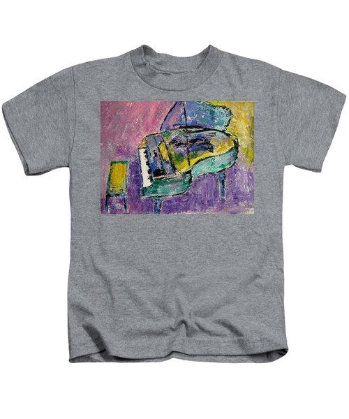 Piano Green Kids T-Shirt