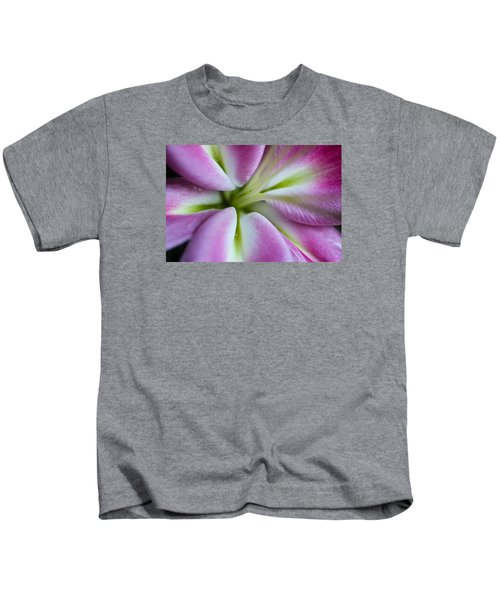 Pink Asiatic Lily Kids T-Shirt
