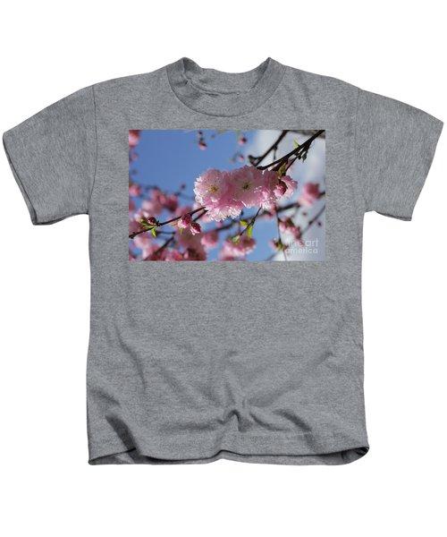 Pink Plum On Sky 2 Kids T-Shirt