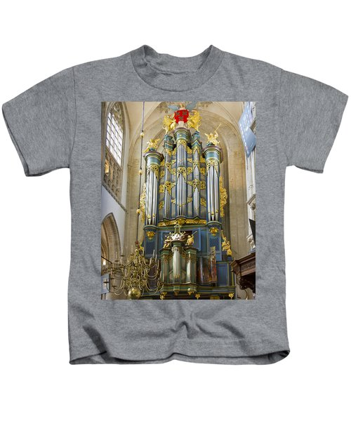 Pipe Organ In Breda Grote Kerk Kids T-Shirt