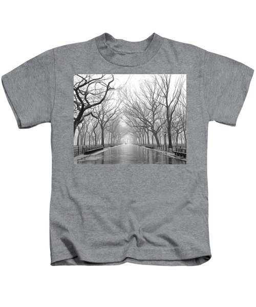 New York City - Poets Walk Central Park Kids T-Shirt