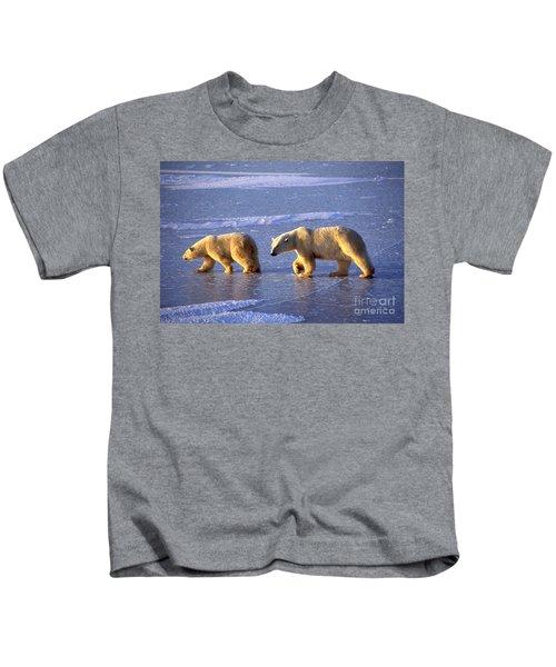 Polar Bear And Young Kids T-Shirt