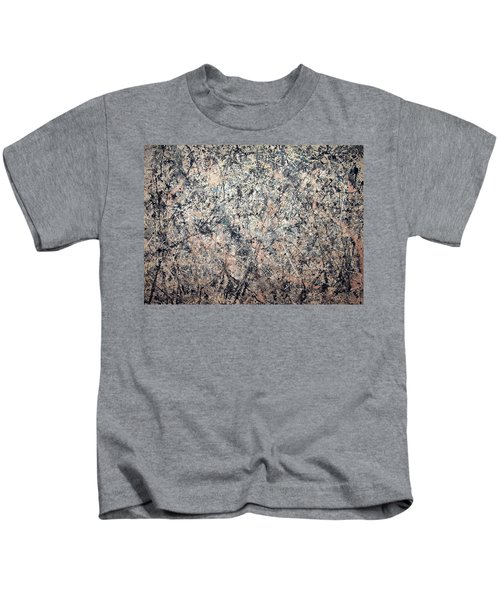 Pollock's Number 1 -- 1950 -- Lavender Mist Kids T-Shirt