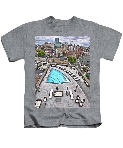 Pool With A View Kids T-Shirt