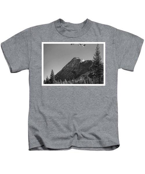 Pothole Dome In Yosemite Kids T-Shirt