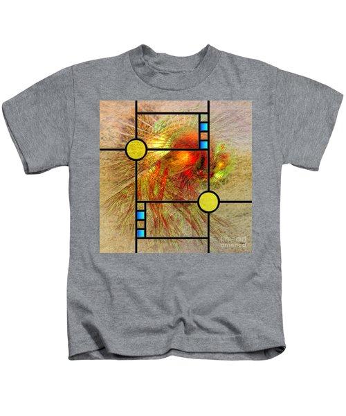Prairie View - Square Version Kids T-Shirt