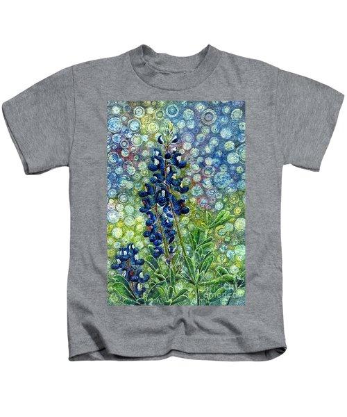 Pretty In Blue Kids T-Shirt