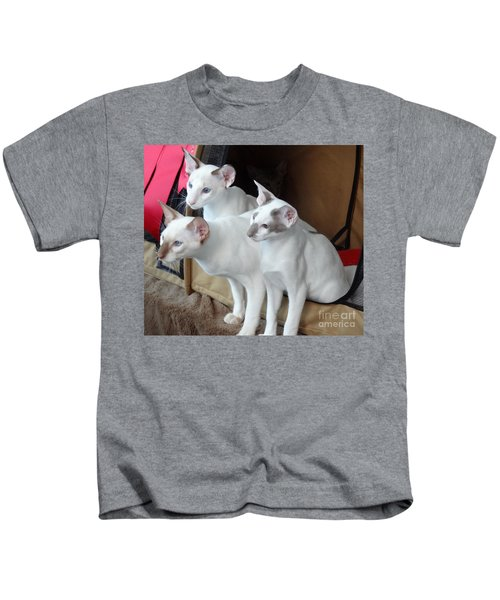 Prize Winning Triplets Kids T-Shirt