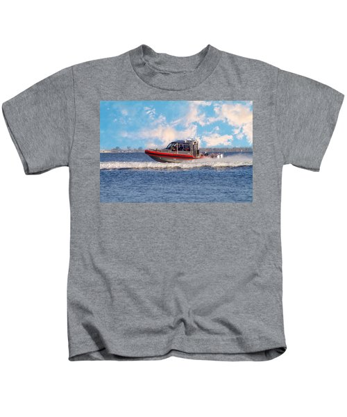 Protecting Our Waters - Coast Guard Kids T-Shirt